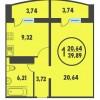 Отличное предложение 1 комн квартиры в жк плеханово г.  тюмень