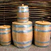 Деревянные бочки для спиртного и засолки