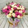 Ассортимент прекрасных,  недорогих и свежих цветов